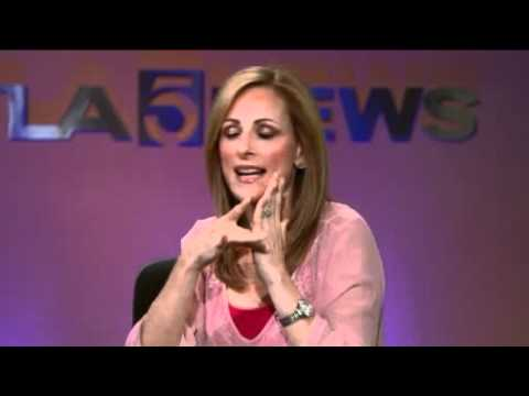 "Marlee Matlin Visits the KTLA Morning News to Talk ""Switched At Birth"" and ""Celebrity Apprentice"""