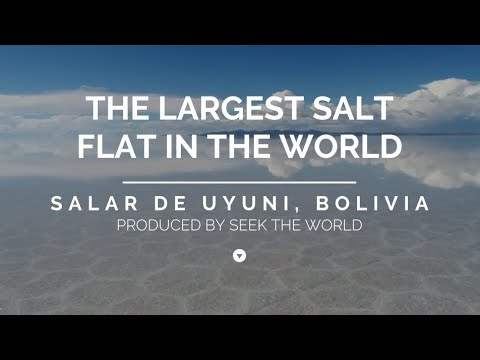 Salar De Uyuni – The Largest Salt Flat In The World!
