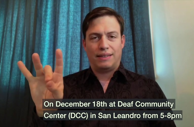Deaf Teen Winter Social