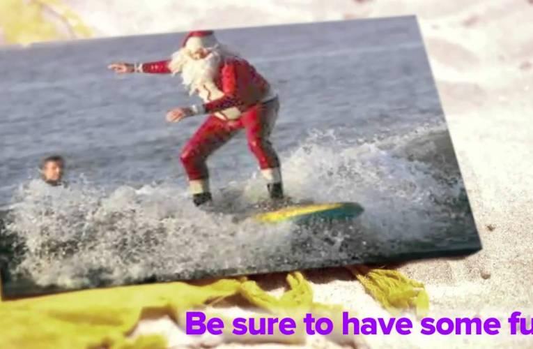 Signing Santa Goes on Vacation!