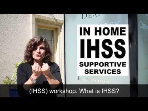 IHSS Workshop