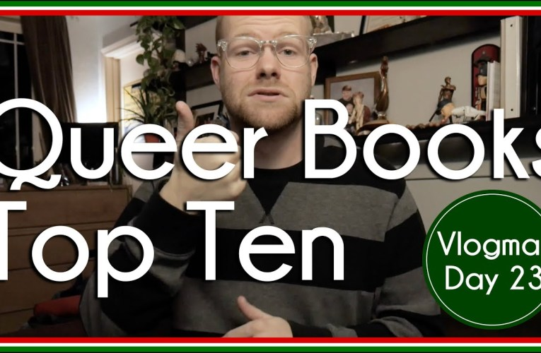 Top 10 Queer Books of 2019 | BookTube | Vlogmas