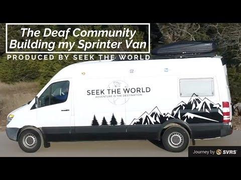 Gofundme: The Deaf Community Building my Sprinter Van Conversion