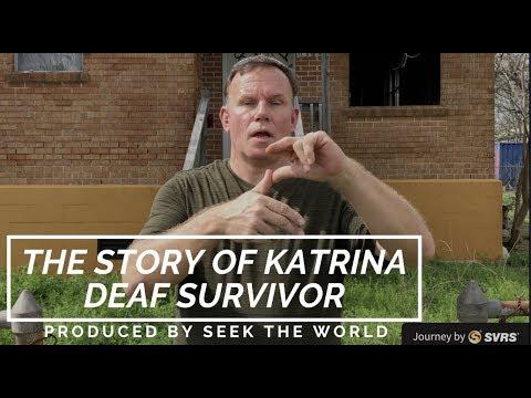 The Deaf Survivor of Katrina Hurricane – Hansen Baker-Touchard