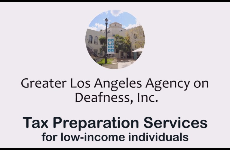 Tax Preparation Services for Low-Income