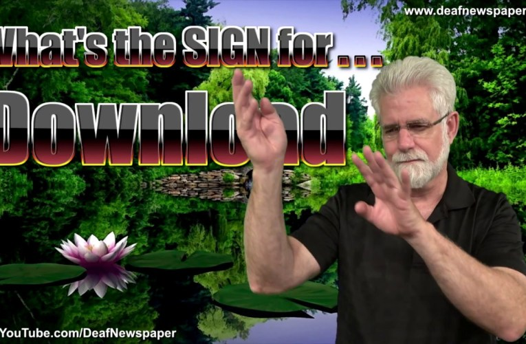 ASL: Sign for DOWNLOAD #45
