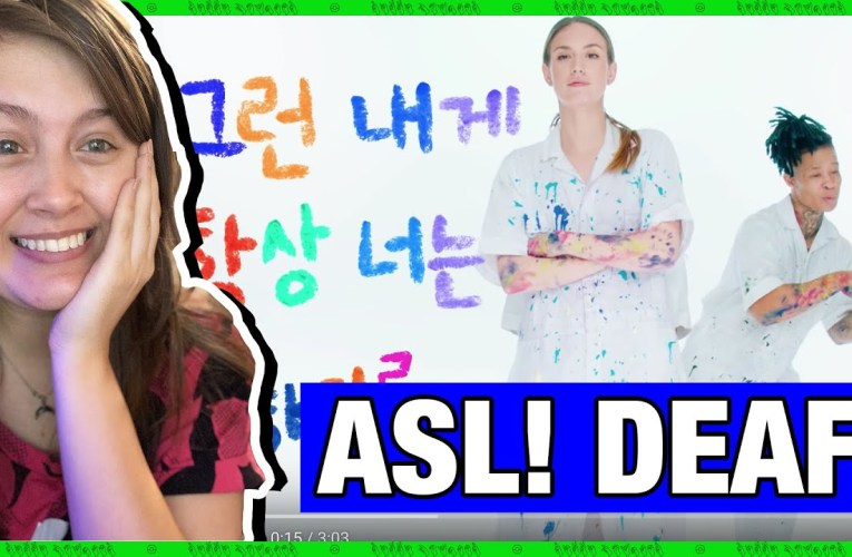 """Deaf Person Reacts To CL """"I Quit"""" Music Video (American Sign Language)   Rikki Poynter"""