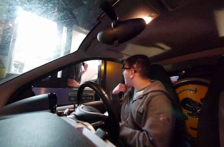 Deaf Drive-Thru   Deaf vlog disability subtitles cc accessibility