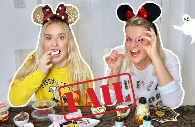 Halloween Cake BAKE OFF!! *FAIL*