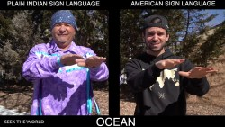 American Sign Language & Plains Indian Sign Language (PISL)