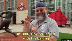 "The History of William ""Dummy"" Hoy - A Deaf Baseball Player"