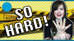 Signing With My Left Hand Challenge | ASL | Rikki Poynter