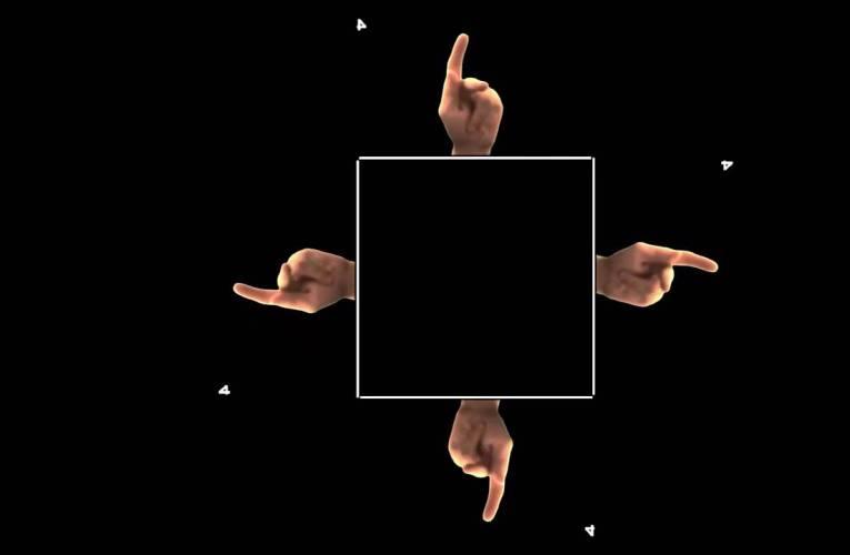ASL Hologram 4 Letters/8 Words Fingerspell Practice