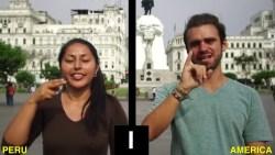 """The Alphabets of Peru Sign Language - """"Lenguaje de Señas Peruanas"""" (LSP)"""