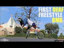 Gary Clark - First Deaf Professional FreeStyle BMXer