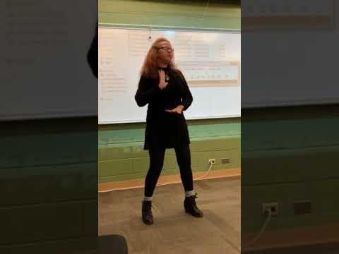 """Listen"" by Beyonce from ""Dreamgirls"" performed in #ASL by #DeafTalent Jennifer Delora"