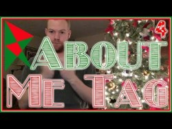 BookTube About Me Tag   Vlogmas
