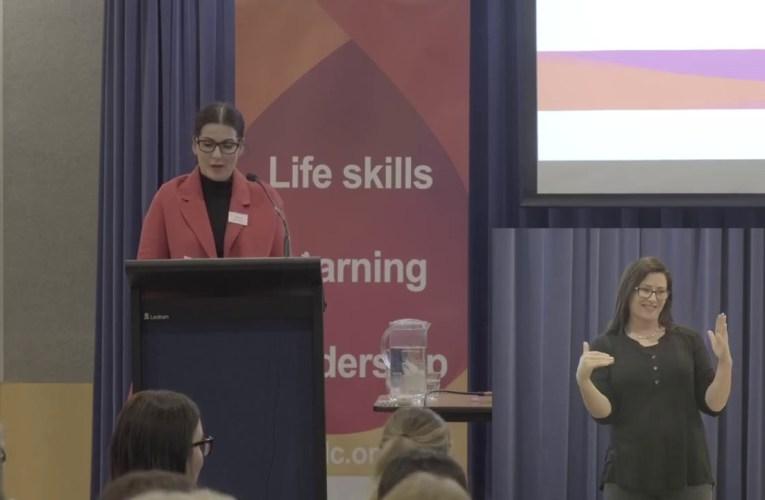 WAFDC – Deaf Express 2019  – Natalie Kilmartin