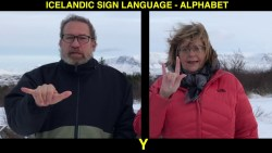 The Alphabet of Icelandic Sign Language (ABC)
