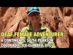 Deaf Female Adventurer: Jeanette Scheppach
