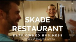 Deaf-Owned Business: The Skade Restaurant Owned By Four Deaf Owners (CLOSED)