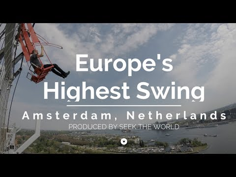 'Over the Edge' is Europe's Highest Swing
