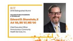 2019 CHST Distinguished Alumnus: Edward D. Shanshala, II AA '85, BS '87, MS '00