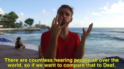 BRAZIL HOSTEL: SIGN LANGUAGE IS OUR CONNECTION.