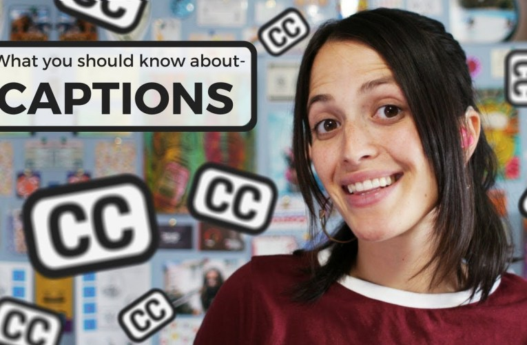 Dear Hearing People: What You Should Know About Captions ❤ Jessica Marie Flores ❤