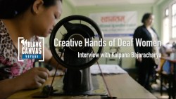 Creative Hands of Deaf Women in Nepal