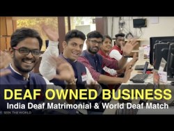 Deaf-Owned Business: India Deaf Matrimonial (IDM) and World Deaf Match (WDM)