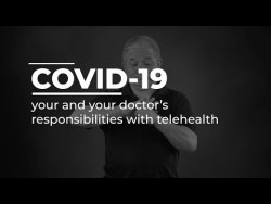 COVID-19 Healthcare Guide: your and your doctor's responsibilities with telehealth