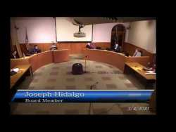 Council Rock School District Board Meeting, March 4, 2021 [SPECIAL MEETING]