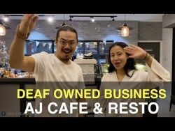 Deaf-Owned Business: AJ Cafe & Resto in Philippines