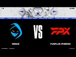 FPX vs. RGE | Worlds Group Stage Day 4 | FunPlus Phoenix vs. Rogue (2021)