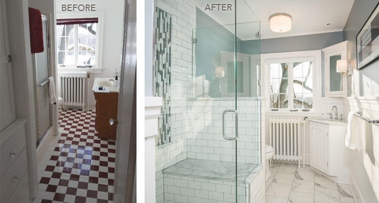 The Big Reveal Final Photos Of Bathrooms In A 1920