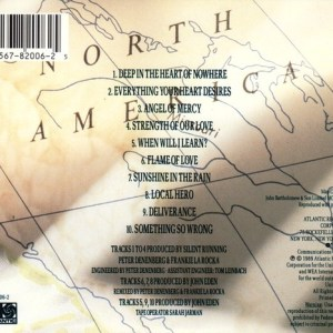 Deep CD Cover Back