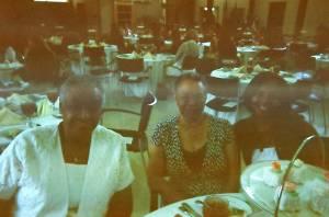 A La Carte  guests table