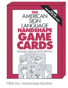 ASL Handshape Game Cards Image