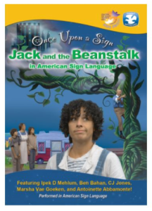 Jack and the Beanstalk by Once Upon a Sign Image