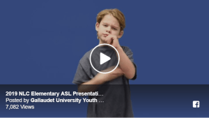"2019 NLC Elementary ASL Presentation - Second Place ""Zoo"" Image"