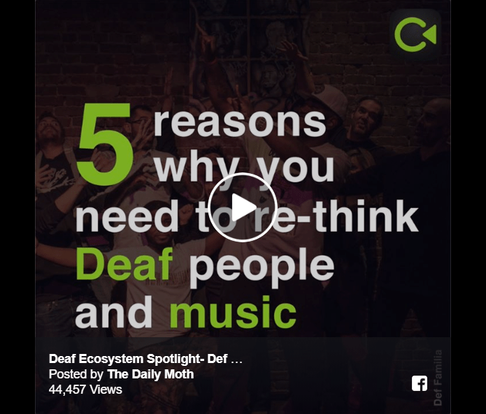 5 Reasons Why You Need to Re-think Deaf People and Music Image