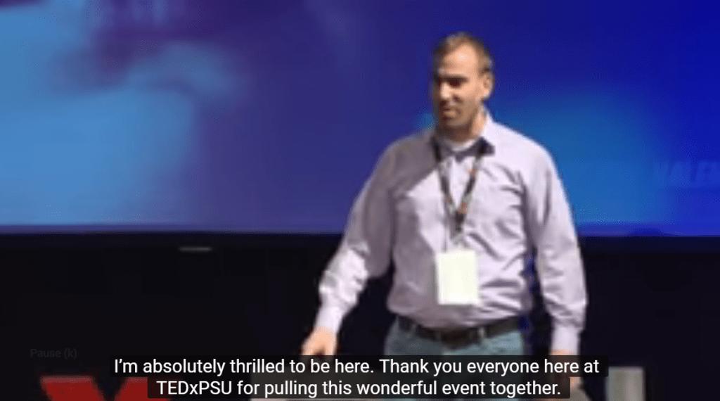 Hearing the Unheard | Dr. Joseph Valente | TEDxPSU Image