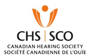 Canadian Hearing Society - Société Canadienne de L