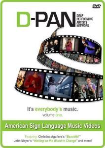 D-PAN (Deaf Professional Arts Network) – ASL Music Videos Vol. 1 Image