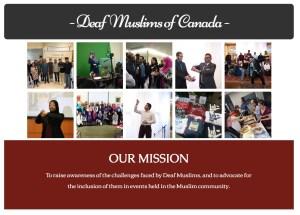 Deaf Muslims of Canada Image
