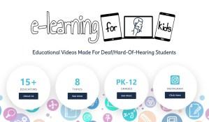 eLearning for Deaf Kids Image