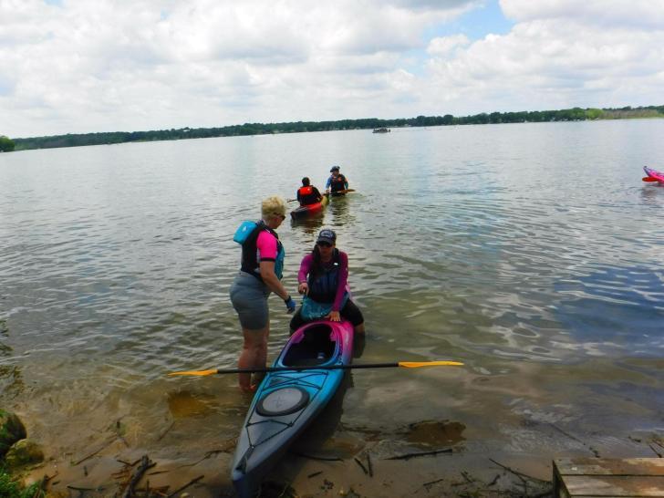 kayak kickstart