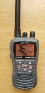 VHF Hand held radio