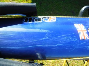 how to fix the minor scratches in your fiberglass kayak